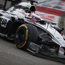 Jenson Button se quedó a las puertas de los puntos