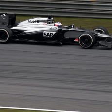 Rendimiento pobre de Jenson Button en China