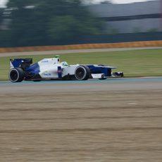 El Sauber C31 avanza con Simona de Silvestro