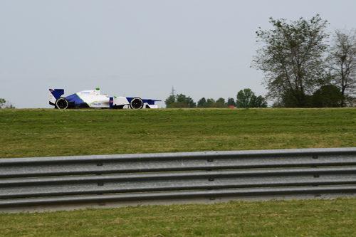 Sauber escogió rodar en Fiorano con Simona de Silvestro