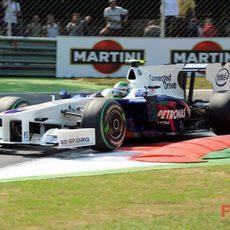 Heidfeld en Monza