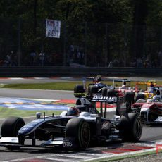 Nakajima en Monza