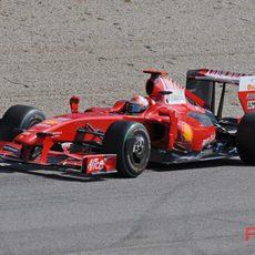 Fisichella debuta con el Ferrari