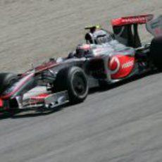 Kovalainen en Monza