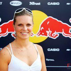 La esquiadora Manuela Moelgg