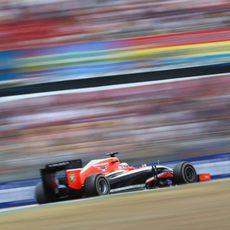 Jules Bianchi logró sus objetivos en Barcelona