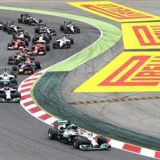 Lewis Hamilton mantuvo la pole en Barcelona