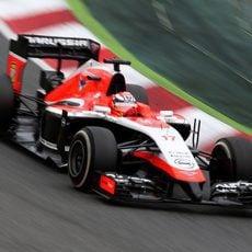 Jules Bianchi igualó el ritmo de Sauber al final de la carrera