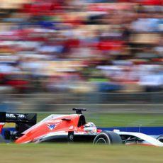 Jules Bianchi quedó por delante de Caterham