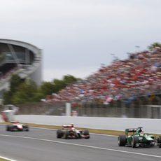 Kobayashi llegando a final de meta