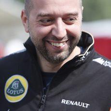 Gerard López en el Gran Premio de España