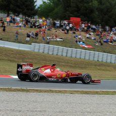 Sexto puesto para Fernando Alonso en España
