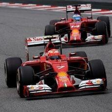 Kimi Räikkönen acabó séptimo con dos paradas en boxes