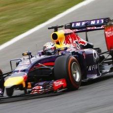 Remontada de Sebastian Vettel en el GP de Espana 2014