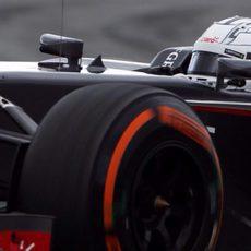 Giedo van der Garde pilota el C33 en Barcelona