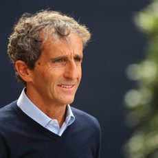 Alain Prost, presente en Mónaco