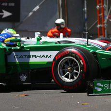 Toque entre Massa y Ericsson en Mirabeau