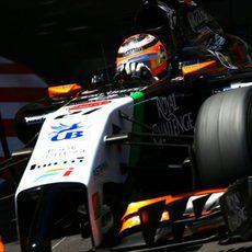 Nico Hülkenberg cayó en la Q2 en Mónaco
