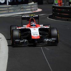 Max Chilton acabó satisfecho con su clasificación