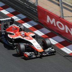 Jules Bianchi se quedó a seis décimas de Sauber