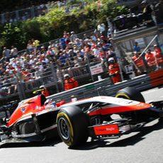 Max Chilton completa los últimos entrenamientos en Mónaco