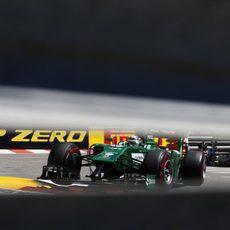 Kamui Kobayashi no pudo con Marussia en Mónaco