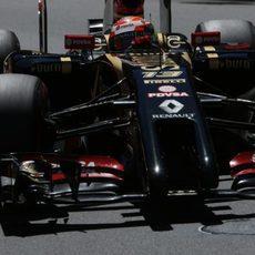 Pastor Maldonado no pudo pasar de la Q2 en Mónaco
