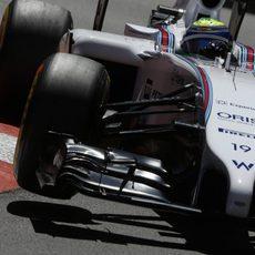 Felipe Massa no logró completar toda la clasificación