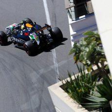 Q3 para Sergio Pérez en Mónaco