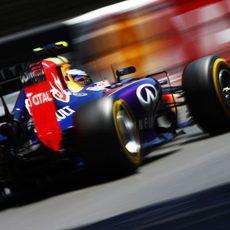 Daniel Ricciardo fue la referencia tras los Mercedes
