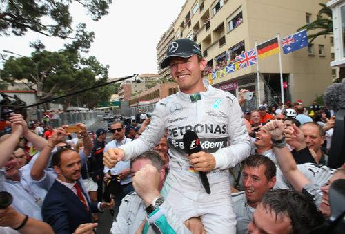 Victoria de Nico Rosberg en Mónaco