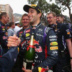 Nuevo podio de Daniel Ricciardo