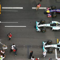 Los tres monoplazas más rápidos en Mónaco