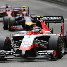Max Chilton quedó 14º en Mónaco