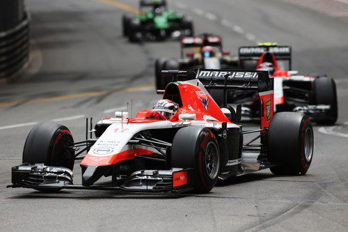 Jules Bianchi consigue dos puntos para Marussia