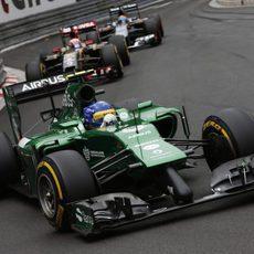 Marcus Ericsson se quedó a las puertas de los puntos