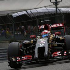 Octava posición de Romain Grosjean en Mónaco