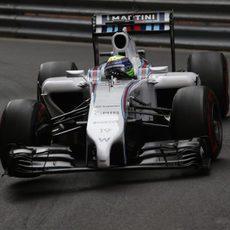 Felipe Massa acabó contento su andadura en Mónaco