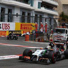 Buena quinta posición de Nico Hülkenberg