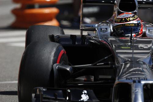 Kevin Magnussen perdió potencia hacia el final de la carrera