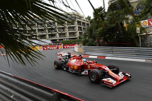Fernando Alonso se quedó a las puertas del podio