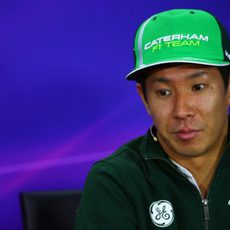 Kamui Kobayashi, invitado a la rueda de prensa