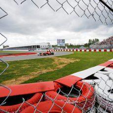 Kimi Räikkönen tuvo problemas eléctricos