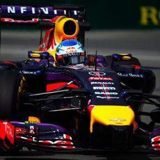 Cuarta plaza para Sebastian Vettel en los Libres 1
