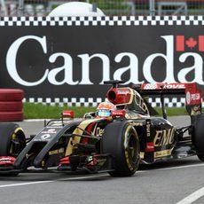 Tanda con el blando para Romain Grosjean