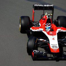 El Marussia de Max Chilton avanza en Montreal
