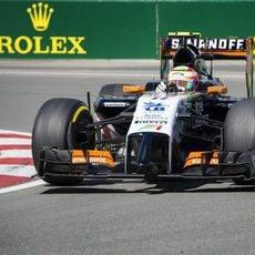 Sergio Pérez acabó antes la segunda sesión