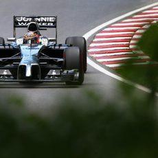 Jenson Button sigue confiado ante el fin de semana