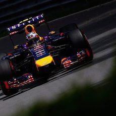 Daniel Ricciardo acabó la sesión positivo