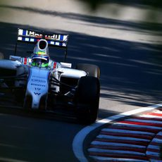 Felipe Massa tuvo un fallo en el ERS